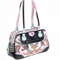Georgina Shoulder Bag (Touch Me Not) - Jenn Louise - Designer Handbags - Spencer and Rutherford