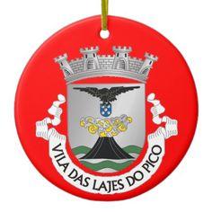 Lajes do Pico* Christmas Ornament