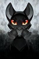 Post-Apocalypse Meow by nakanoart