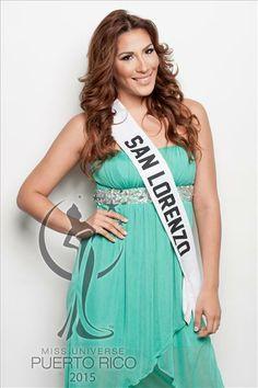 Miss Universe SAN LORENZO, Verónica Rodríguez. (SE RETIRÓ) #MissUniversePuertoRico2015 #MUPR2015 #MissSanLorenzo #VeronicaRodriguez