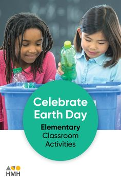 At HMH The Learning Company, we believe It's important that minds of all ages honor Earth Day. Here's a list of activities that teachers and educators can incorporate in their elementary classrooms. Earth Day Activities, List Of Activities, Science Resources, Learning Resources, Classroom Activities, The Learning Company, Working With Children, High School Students
