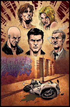 Le Strade della Vendetta by Xside Comics. www.xsidecomics.com Comics, Movie Posters, Art, Art Background, Film Poster, Kunst, Cartoons, Performing Arts, Comic