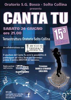 Canta Tu a Solto Collina  http://www.panesalamina.com/2017/56716-canta-tu-a-solto-collina.html