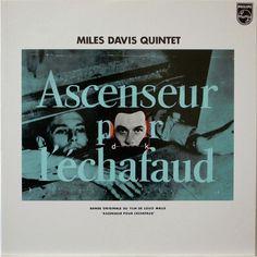 MILES DAVIS QUINTET / ASCENSEUR POUR LECHAFAUD / PHONOGRAM JAPAN