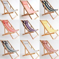 Deck Chairs So incredibly Comfortable you won't notice the Sunset by Gallant & Jones Deck Chairs | Summer 2013