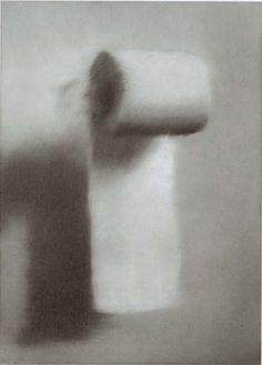 Toilet Paper, Gerhard Richter, 1965.