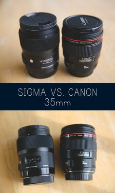 REVIEW: Sigma 35mm 1.4 VS. Canon 35mm 1.4L #eizaphotography