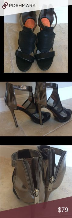 Sam Edelman Circus Black Heels Size 6.5 Sam Edelman Circus Black Heels Size 6.5 Reposh *too high for me to wear gently used and Box is not included Circus by Sam Edelman Shoes Heels