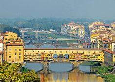Ponte Vecchio - Itália - Surpreendentes Pontes Habitados