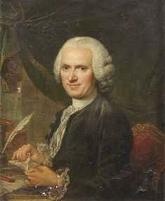 Jean Jacques Rousseau (1712-1778), 18th century, French school