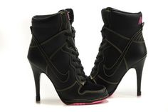 So awesome! high heel tennis shoes. I would like these.