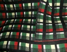 Vintage blankets from our collection October 2016 - retro dekens - Wolldecken