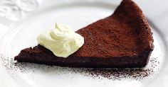 The fruity red wine in this tart adds another level of flavour and richness.