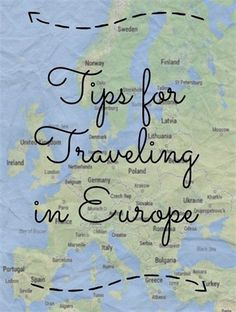 Tips for Traveling in Europe including how to navigate without internet, packing tips, and things I'd wish I'd known before my first trip.  #traveltips