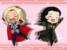 Thor + Loki Spazz dance by ~Vampyyri on deviantART