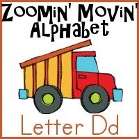 Dd is for Dump Truck Printable