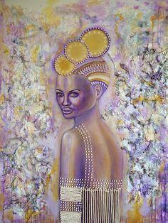 Ascension, Mixed Media on Canvas, by Sabrina Brett 6