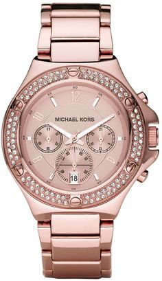 Rose Gold Michael Kors watch..