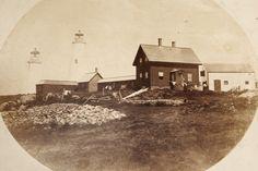 (c. 1859) Bakers Island Lighthouse - Salem, MA