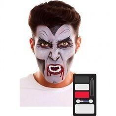 Paleta Maquillaje de Vampiro Halloween #maquillajehalloween #efectosespeciales Maquillaje Halloween, Halloween Face Makeup, Products, Facials, Halloween Makeup Vampire, Halloween Night, Makeup Kit, Makeup Pallets, Face Paintings