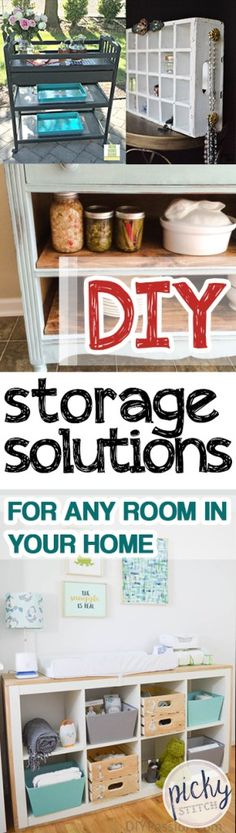 DIY Storage Solutions for Any Room In Your Home