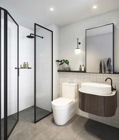 'Minimal Interior Design Inspiration' is a weekly showcase of some of the most perfectly minimal interior design examples that we've found around the web - all Interior Design Examples, Interior Design Inspiration, Interior Ideas, Style Inspiration, Modern Bathroom Design, Bathroom Interior Design, Bathroom Styling, Toilet Design, Cool Apartments