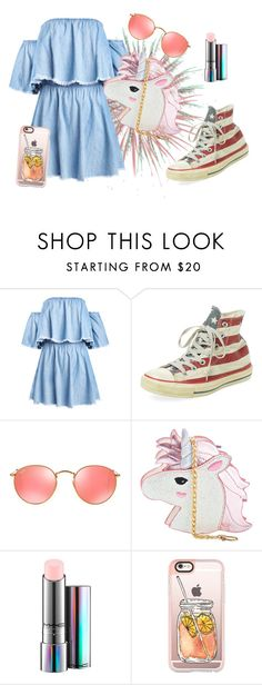 """""""SEM TÍTULO #109"""" by luhpayne-948 on Polyvore featuring Converse, Ray-Ban, Skinnydip, MAC Cosmetics and Casetify"""