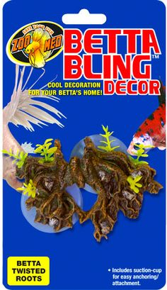 Betta Bling™ Decor - Twisted Roots