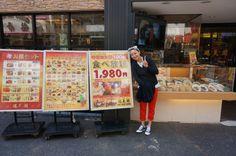 Dim sum buffet in Tokyo, Japan