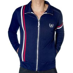 Laurel Track Jacket by Andrew Christian in Navy