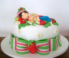Strawberry Shortcake Cake: Now this is one great cake Strawberry Shortcake Birthday, Decorated Cakes, Sugar And Spice, Celebration Cakes, Amazing Cakes, Cake Ideas, Party Themes, Cake Decorating, Spices
