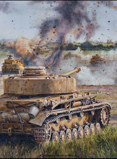 German Armour:  Pz IV tanks, the most-produced tank by Germany