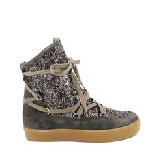 #MoonBoots Bankise Sparkle taupe #Reqins - 119,00 €