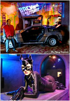 @RipleysBION Louis Tussaud's Waxworks in Niagara Falls, Ontario, Canada. Micheal's J. Fox and his DeLorean time machine from the Back to the Future trilogy. Cat woman.  - The Flying Couponer | Family. Lifestyle. Savings. Travel.