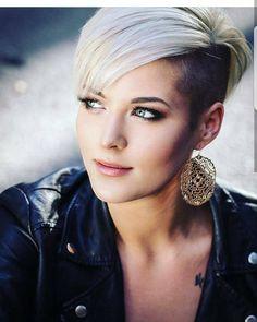La nouvelle tendance, coupe blonde courte et dégradée ! - Coiffures Originales