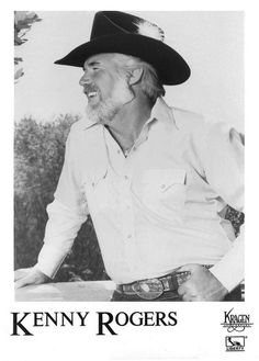Kenny Rogers early 1980's by Americana And Country, via Flickr