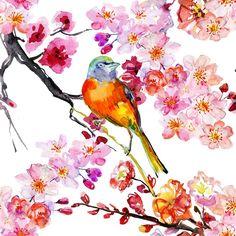 "Daphne's Diary on Instagram: ""🐥 Enjoy this new week! #monday #bird #illustration #watercolor #flowers"" Daphnes Diary, Watercolor Art, Watercolor Flowers, New Week, Blooming Flowers, Decoupage, Paper Crafts, Bird Illustration, Scrapbooking Ideas"