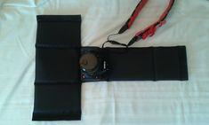 Camera WRAP for your DSLR Camera. $25.00, via Etsy.