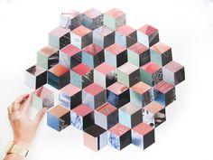 patchwork-facile-cubes-modèle-3d patchwork facile