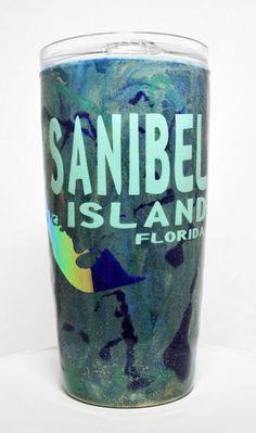 Sanibel Island 20oz Stainless Steel tumbler