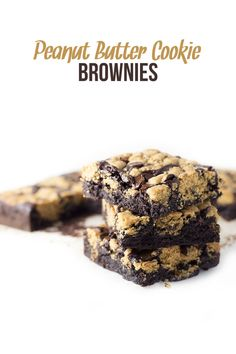 Blog post at Perfectly Sprinkled : Rich and chocolatey brownies topped with peanut butter cookie dough and semi-sweet chocolate chips.      What happens when you com[..]