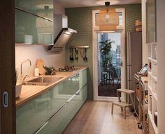 Arredamento per cucine di piccole dimensioni. Arredo cucine piccole ...