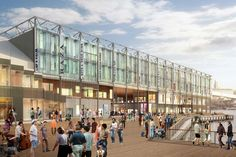 Howard Hughes Corp. South Street Seaport Redevelopment in New York