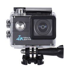 """2.0"""" LCD Wifi Action Sports Camera Ultra HD 16MP 4K 30FPS 1080P 60FPS 4X Zoom 170 Degree Wide-Lens Support Image Rotation Time Watermark Waterproof 30M Car DVR DV Cam Diving Bicycle Outdoor Activity US$39.99 Deals - Camfere.com"""