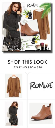 """""""Romwe7"""" by adelisa56 ❤ liked on Polyvore featuring Bobbi Brown Cosmetics"""