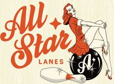 Retro-Inspired Bowling Bars - London's 'All Star Lanes' Blends Pins and Pin-Ups (GALLERY)