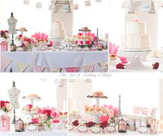Paris First Birthday: Planning Decor and Favor Bags | The Art of Making a Baby_The Art of Making a Baby/table