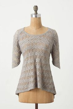 Obscured Window Pullover - front- Knitted & Knotted anthropologie.com