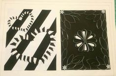 monocromo monocromía teoría del color textura de tela fabric pattern papel paper cut