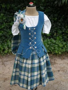 Lilt Dress. I want a blue one with a black vest to match my blue brooch.    Dress Blue Ireland aboyne outfit